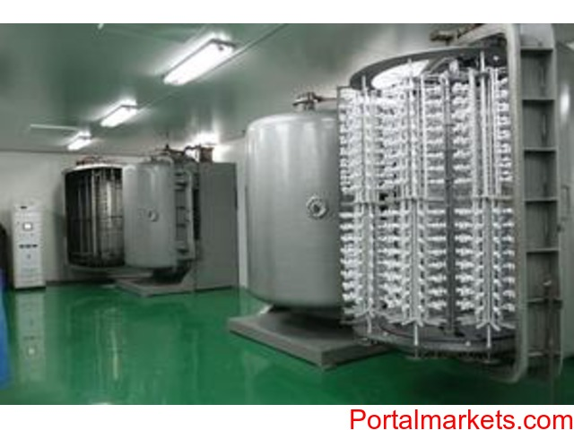 Thermal evaporation metallizer - 1/4