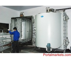 Thermal evaporation metallizer