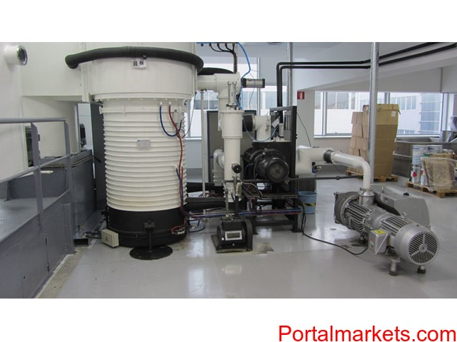Thermal evaporation metallizer - 3/4