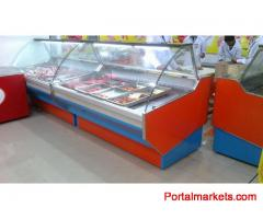 Meat Display Chiller, Meat Shop Equipment