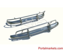 Volvo PV544 US style stainless steel bumpers, PV 544, brand new