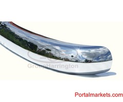 Borgward Isabella bumpers, stainless steel, brand new