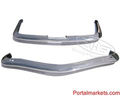 Iso Rivolta IR 300/340/350 stainless steel bumpers, (1963-1970), brand new