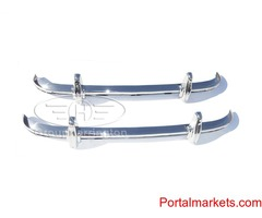 Austin Healey 100-6 and 3000 BN4-BJ8 bumpers, stainless steel, brand new