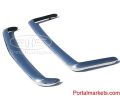 Bond Equipe 2-Litre bumpers, stainless steel, brand new