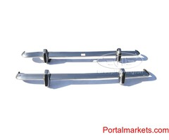 Ford Lotus Cortina MK2 bumpers, stainless steel, brand new