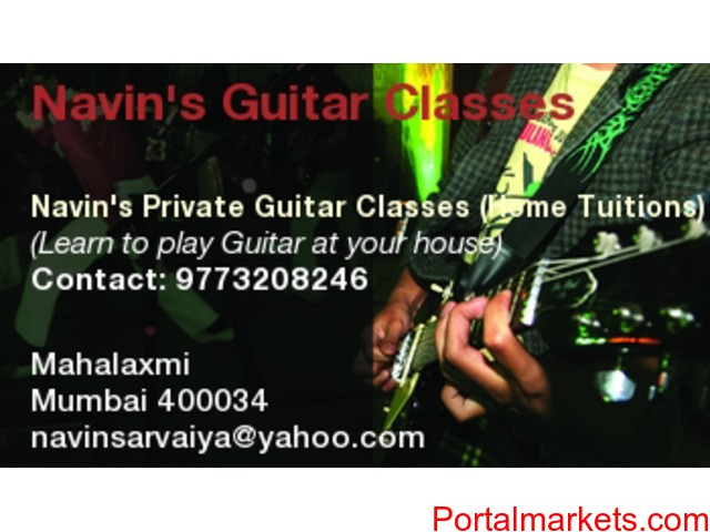 Guitar Classes - Home Tuitions - 1/1