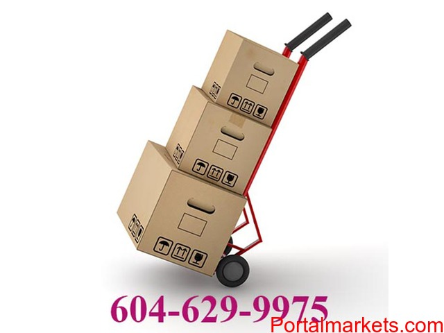 Vancouver Moving Service in BC, Canada is provided by Greater Vancouver Moving Company. - 1/1