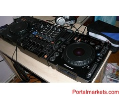 SET OF 2x Pioneer CDJ-2000 Nexus & 1x PIONEER DJM-2000