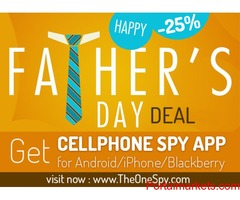Father's day promotion: (Take 25% off on Father's Day!)