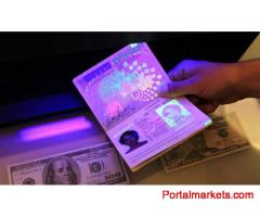Purchase Best Quality Real and Novelty Passports , id cards , visas , drivers license