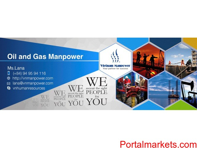 Optimize your oil and gas recruitment using our manpower service - 1/3