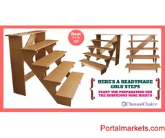 Doll steps / Golu padi available for 6500 only