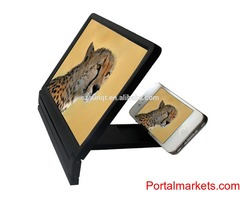 Mobile Phone 3D Video Screen Folding Enlarged Screen Magnifier Stand Bracket