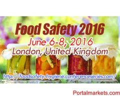 2nd International Conference on Food Safety and Regulatory Measures