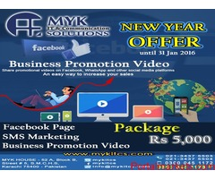 New Year Offer Business Promotion Package