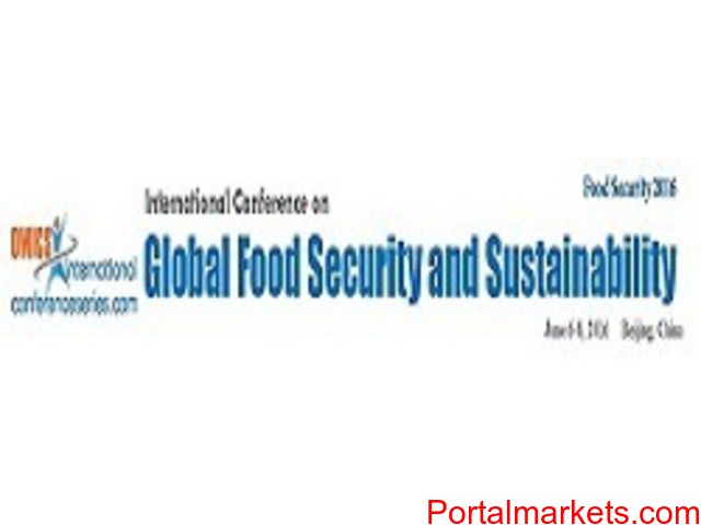 Global Food Security and Sustainability Conference - 1/1