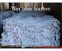 Wet Blue Leather Manufacturer & Expoter