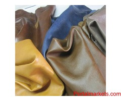Semi Vegetable Tanned Leather Manufacturer & Expoter