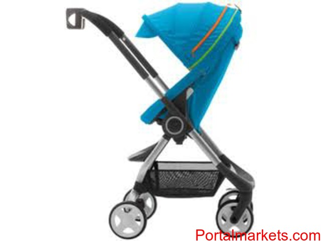 Stokke Xplory RED Standard Single Seat Stroller - 1/1