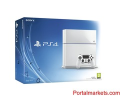 Sony PlayStation 4 (the latest model) - 500 GB Ice White Console