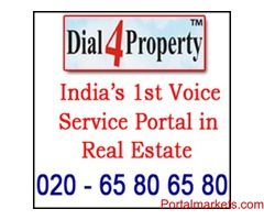 India's first voice service in real estate industries: 020 65 80 65 80