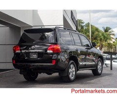 I want to sell my used 2013 Toyota Land Cruiser V8