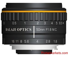 BO MACHINE VISION LENS | F-MOUNT LENSES | MACHINE VISION | BANGALORE