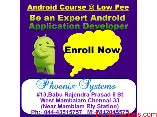 android training in chennai - 1/1