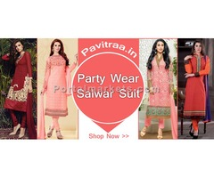 New Latest 2016 Party Wear Salwar Suits Online Collection