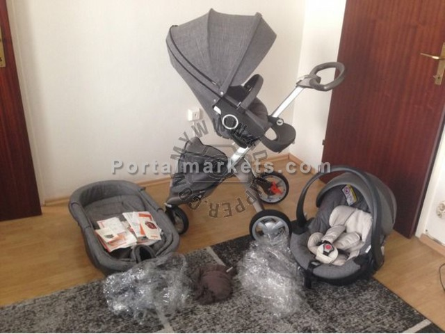 Stokke Xplory V4 Izi Go Travel System - Collection 2015 - 1/2