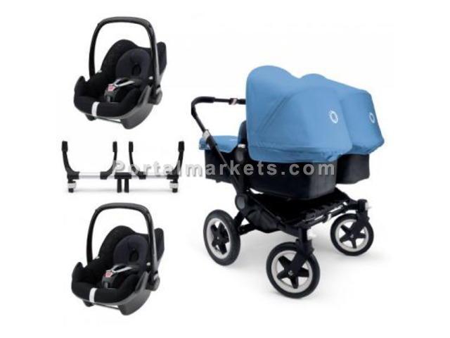 Bugaboo Donkey Twin Travel System Package 2 - Collection 2015 - 1/2