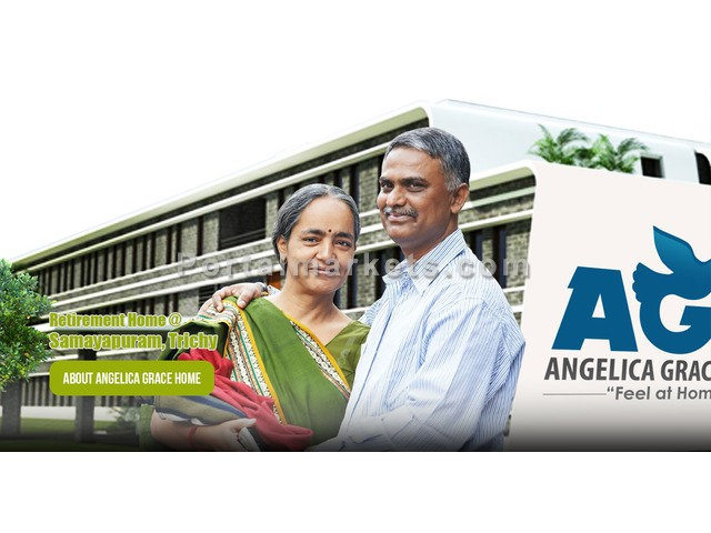 Best Luxury Senior Citizen Homes | Angelica Grace Homes Trichy. - 1/4