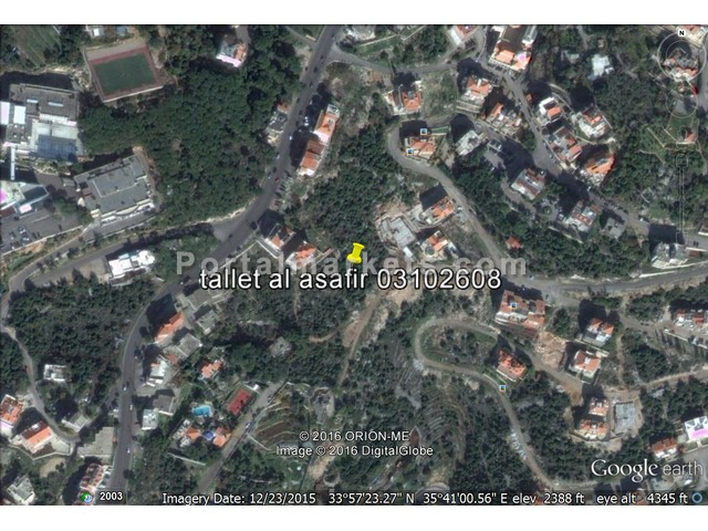 wonderful land for sale in lovely lebanon-dany 009613102608 - 1/1