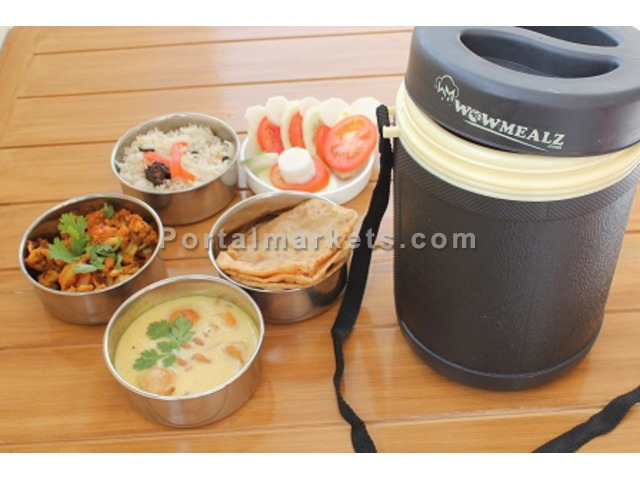 Wowmealz Caterers Tiffin Service - 1/3