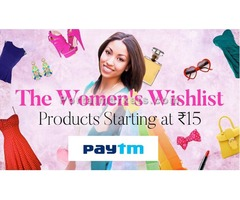 The Womens Wishlist Products Starting At Rs.15/-