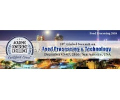 10th Global Summit On Food Processing & TEchnology