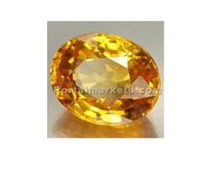 yellow sapphire gemstone only rs 3500 from dharmikshakti.in