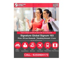 Affordable Shops in Sector 103 Gurgaon