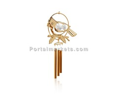 Wind Chimes-24K Gold Plated Wind Chimes
