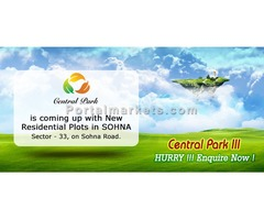 Plots in South of Gurgaon @ 72 Lacs - Central Park   9250404178