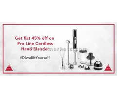 Diwali Offers 2016: Get attractive discount on 5-Speed Cordless Hand Blender
