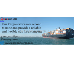 Stop roaming around! Just knock us for the most reliable & quality sea cargo services today.