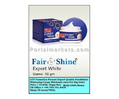 FAIR & SHINE EXPERT WHITE CREAM AND EXPORT QUALITY COSMETICS