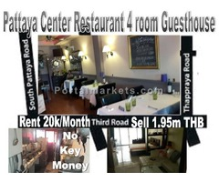 Pattaya Center Restaurant Guesthouse Take over