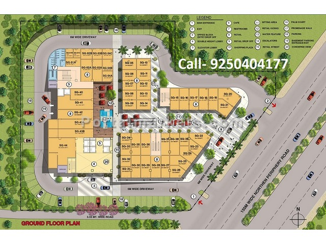Retail Shops & Food Court | CHD EWay Towers Sector 109 Gurgaon - 2/3