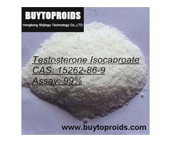 Testosterone Isocaprate Powder White Crystalline Steroid Hormone Email: info@buytoproids.com