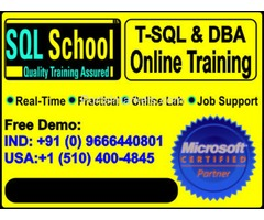 SQL Server 2014 & 2016  DBA PRACTICAL ONLINE TRAINING AND PROJECT