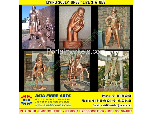 Living Statues Sculpture manufacturers exporters in india punjab ludhiana - 1/3