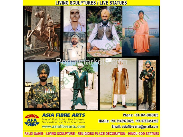Living Statues Sculpture manufacturers exporters in india punjab ludhiana - 2/3